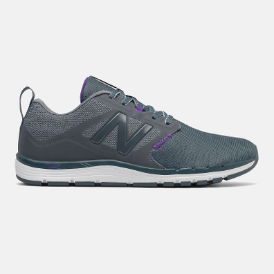New Balance 577V5 - Grey with Purple productafbeelding