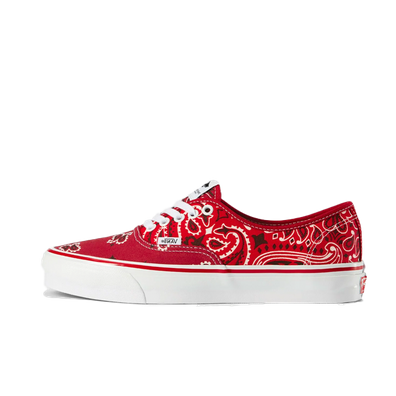 Bedwin X Vans OG Authentic LX 'Red' productafbeelding