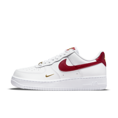 Nike Air Force 1 '07 Essential 'Red Swoosh' productafbeelding