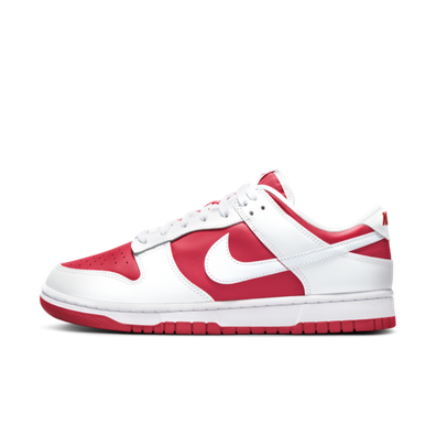 Nike Dunk Low Retro ' University Red' productafbeelding
