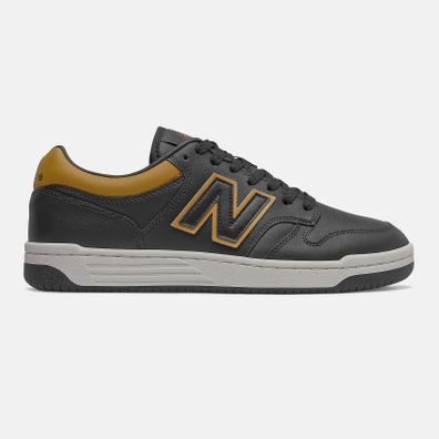 New Balance BB480LV1 - Black with Workwear productafbeelding
