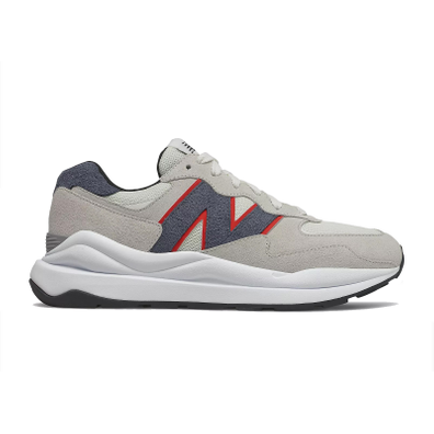 New Balance 57/40 Off White Navy Red productafbeelding