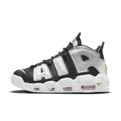 Nike Air More Uptempo 'Black/Silver' productafbeelding