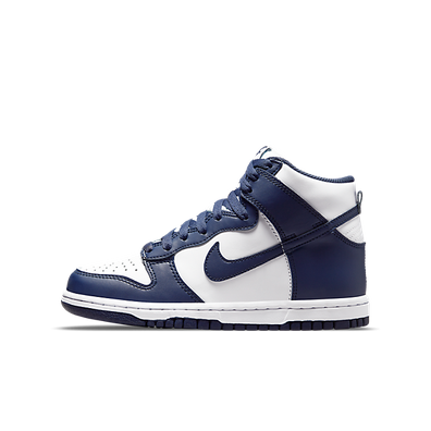 Nike Dunk High GS 'Midnight Navy' productafbeelding