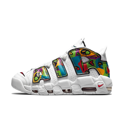 Nike Air More Uptempo ' Peace, Love Swoosh' productafbeelding