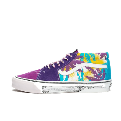 Aries x Vans OG Sk8-Mid LX 'Weed Bright' productafbeelding