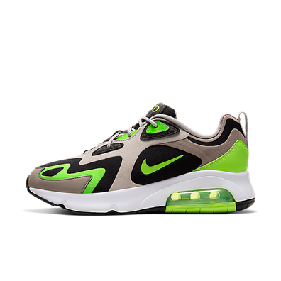 Nike Air Max 200 'Electronic Green' Black/White/Stone Brown/Electronic Green productafbeelding