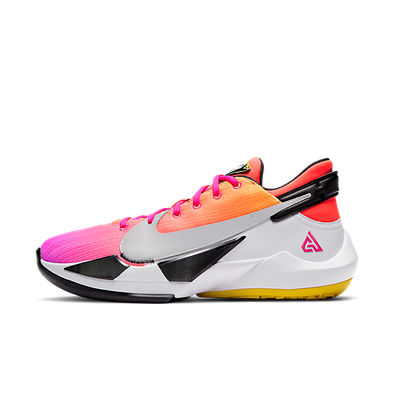 Nike Zoom Freak 2 EP 'Gradient Fade' Bright Dark Red/Flame Pink/White/Black productafbeelding