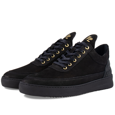 Low Top Ripple Ceres 'All Black' productafbeelding