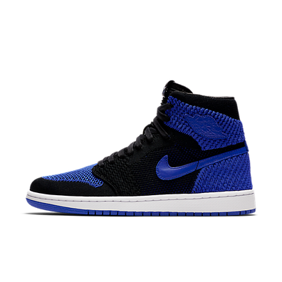 "Air Jordan 1 Retro High Flyknit ""Black & Game"" productafbeelding"