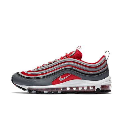 "Nike Air Max 97 ""Wolf Grey/Gym Red-White"" productafbeelding"