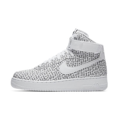 Nike Air Force 1 High LX 'Just Do It' White productafbeelding