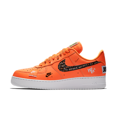 Nike Air Force 1 '07 Premium Just Do It 'Orange' productafbeelding