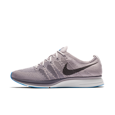 Nike Flyknit Trainer 'Grey/Blue' productafbeelding