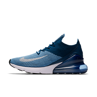 Nike Air Max 270 FlyKnit 'Blue' productafbeelding
