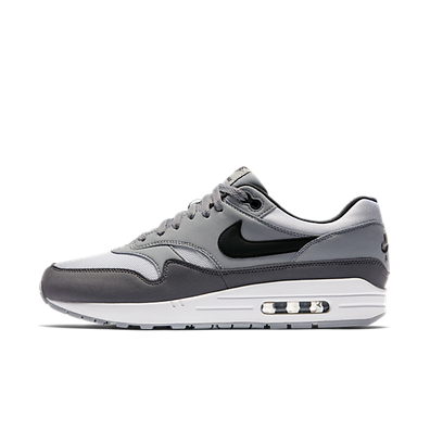 Nike Air Max 1 White/Black-Wolf Grey productafbeelding