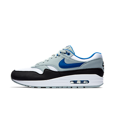 Nike Air Max 1 White/Gym Blue-Light Pumice-Black productafbeelding