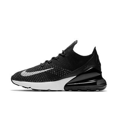 Nike WMNS Air Max 270 Flyknit 'Black White' productafbeelding