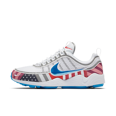 Nike Air Zoom Spiridon x Parra 'White/Multi color' productafbeelding