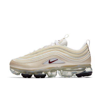 Nike Wmns Air VaporMax 97 'Metallic Cashmere/Team Red' productafbeelding