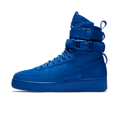 Nike SF Air Force 1 Blue Suede productafbeelding