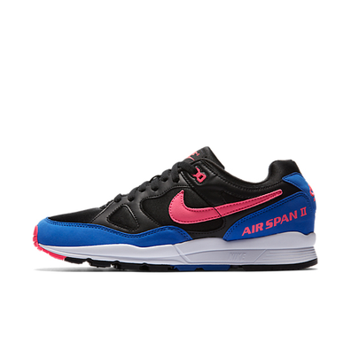 Nike Air Span II 'Black/Blue' productafbeelding