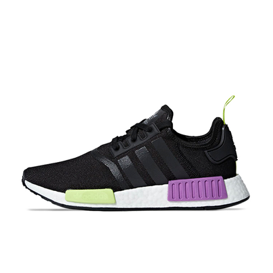 adidas NMD_R1 'Black/Purple Shot' productafbeelding