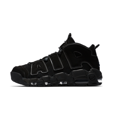 Nike Air More Uptempo 'Triple Black' productafbeelding