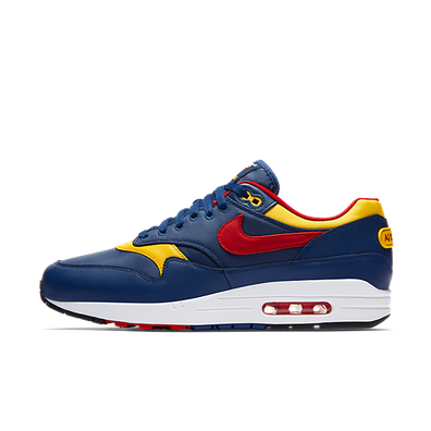 "Nike Air Max 1 Premium ""Navy/Gym Red"" productafbeelding"