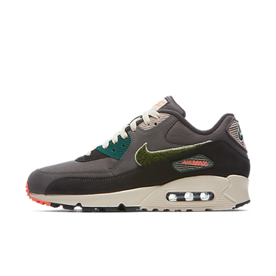 Nike Air Max 90 Premium SE Chenille 'Grey/Green'' productafbeelding