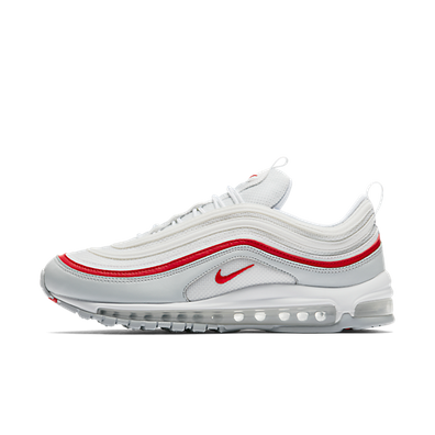 Nike Air Max 97 OG 'Pure Platinum/University Red' productafbeelding
