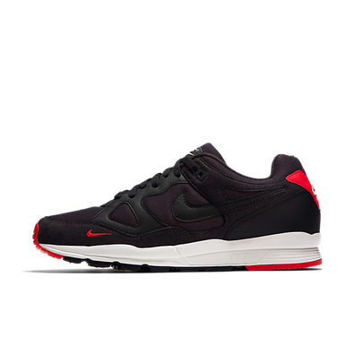Nike Air Span II SE 'Oil Grey/Black-University Red-Sail' productafbeelding