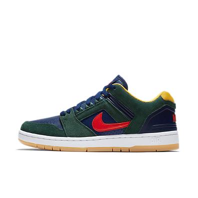 "Nike SB Air Force II Low ""Midnight Green"" productafbeelding"