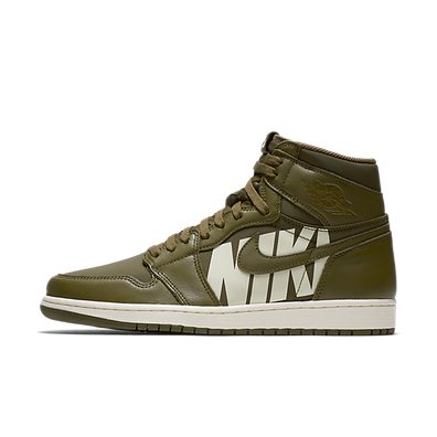 Air Jordan 1 Retro High Og 'Olive Canvas' productafbeelding