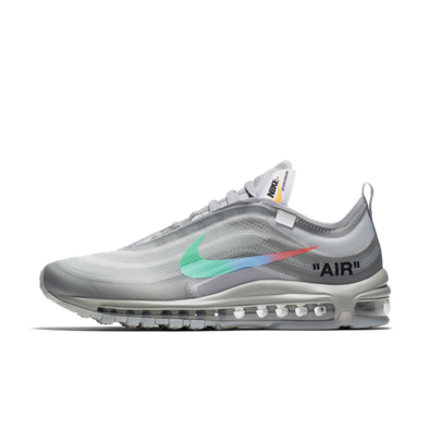 Off-White x Nike Air Max 97 'Grey Menta' productafbeelding