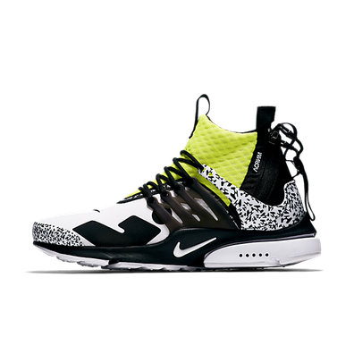 Acronym x Nike Air Presto Mid 'Dynamic Yellow' productafbeelding