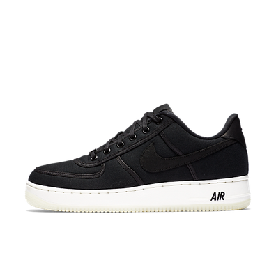 Nike Air Force 1 Low Retro QS CNVS 'Black' productafbeelding