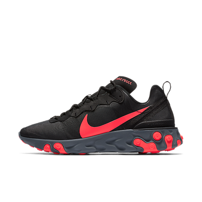 Nike React Element 55 'Black/Solar Red' productafbeelding
