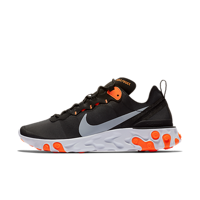 Nike React Element 55 'Black/Orange' productafbeelding