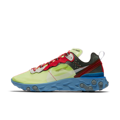 UNDERCOVER X Nike React Element 87 'Volt' productafbeelding