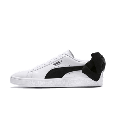 Puma Suede Bow Patent 'White/Black' productafbeelding