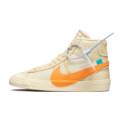 Off White X Nike Blazer Mid 'All Hallows Eve' productafbeelding