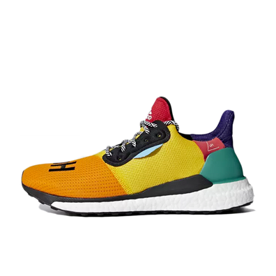 adidas Womens Pharrell Williams Solar Hu Glide 'Bold Gold' productafbeelding