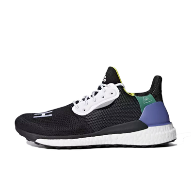 adidas Womens Pharrell Williams Solar Hu Glide 'Core Black' productafbeelding