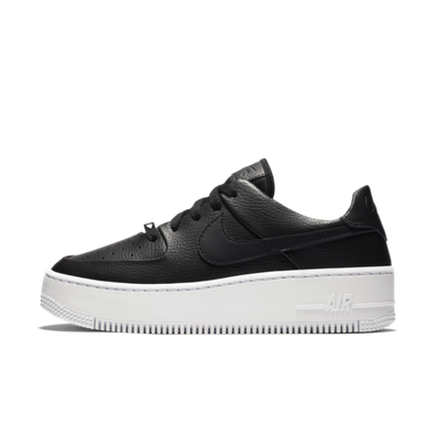 Nike WMNS Air Force 1 Sage 'Black' productafbeelding