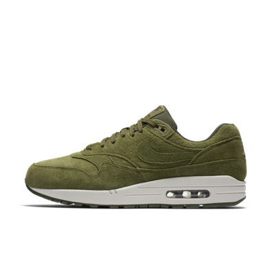 Nike Air Max 1 'Green Suède' productafbeelding