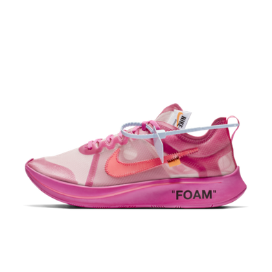 Off-White Nike Zoom Fly SP Pink productafbeelding