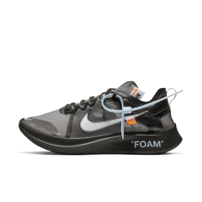 Off-White Nike Zoom Fly SP 'Black' productafbeelding