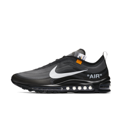 Off-White X Nike Air Max 97 'Black' US EXCLUSIVE productafbeelding