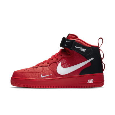 Nike Air Force 1 Mid '07 LV8 Utility 'Red' productafbeelding